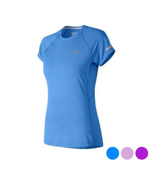 Kurzärmliges Sport T-Shirt New Balance NB Ice 2.0 Damen