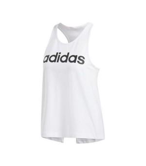 Tanktop Frau Adidas W D2m Lo Tank Weiß