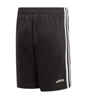 Herren-Sportshorts Adidas YB E 3S KN SH Schwarz (Größe xxs)