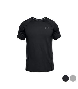 Herren Kurzarm-T-Shirt Under Armour 1323415 Schwarz