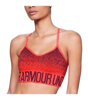 Sport-BH Under Armour 1282916-985 Orange (Größe l)