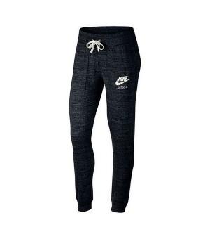 Trainingshose für Erwachsene Nike SW Gym Vintage Damen Schwarz
