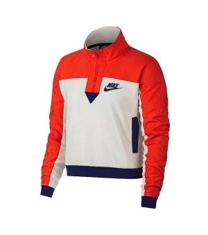 Damen Sweater ohne Kapuze Nike NSW Top HZ Polar
