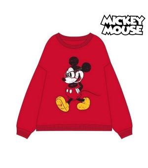 Damen Sweater ohne Kapuze Mickey Mouse 74875 Rot