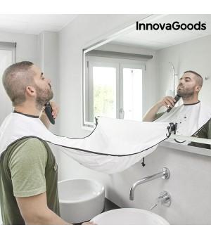 InnovaGoods Latz für Bartrasur mit Saugnäpfen