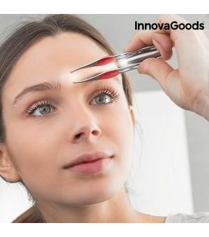 InnovaGoods Augenbrauenpinzette mit LED Licht