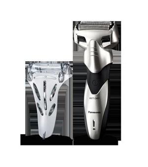 Elektrischer Rasierapparat Panasonic 222829 240 V Wet&Dry Silber Schwarz