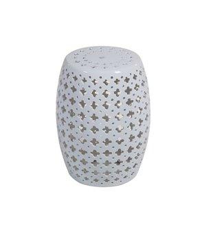 Beistelltisch (33 x 33 x 45 cm) Aus keramik