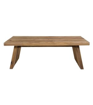 Couchtisch (135 x 78 x 45 cm) Recyceltes holz