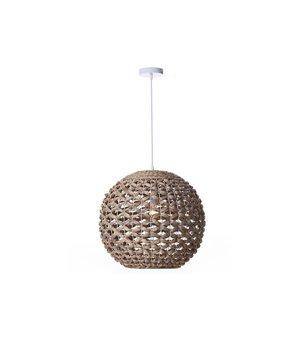 Deckenlampe (51 x 51 x 46 cm) Wasserhyazinthe