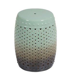 Beistelltisch (33 x 33 x 46 cm) Aus keramik