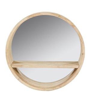 Spiegel Rund Tannenholz