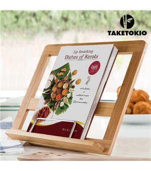 TakeTokio Bambus-Buchständer
