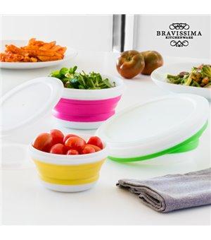 Bravissima Kitchen faltbare Lunchbox (3 Stück)