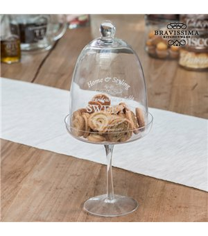Bravissima Kitchen Glasglocke für Gebäck