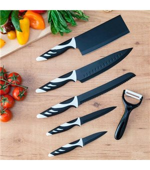 Cecotec Messer Top Chef Black C01024 (6-teilig)