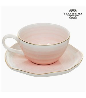 Tasse mit Untertasse 250 ml - Queen Kitchen Kollektion