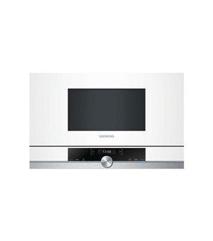 Mikrowellenherd integrierbar Siemens AG BF634LGW1 21 L 900W Edelstahl