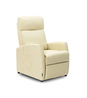 Cecotec 6181 Kompakter Beiger Massagesessel zum Zurücklegen