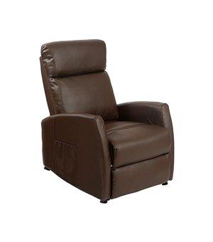 Cecotec 6182 Brauner Massage Ruhesessel zum Zurücklegen