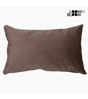 Kissen Polyester Braun (30 x 50 x 10 cm) by Loom In Bloom