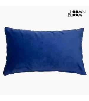 Kissen Polyester Blau (30 x 50 x 10 cm) by Loom In Bloom