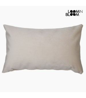 Kissen Polyester Beige (30 x 50 x 10 cm) by Loom In Bloom
