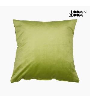 Kissen Polyester Pistazienfarben (45 x 45 x 10 cm) by Loom In Bloom
