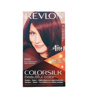 Intensive Repairing Behandlung Colorsilk Revlon Strahlendes kupferkastanienbraun
