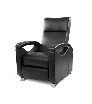 Cecotec 6025 Schwarzer Relax Massagesessel mit verstellbarer Rückenlehne