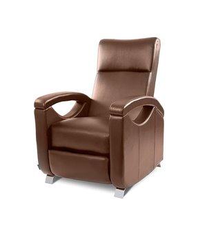 Cecotec 6027 Brauner Relax Massagesessel mit verstellbarer Rückenlehne