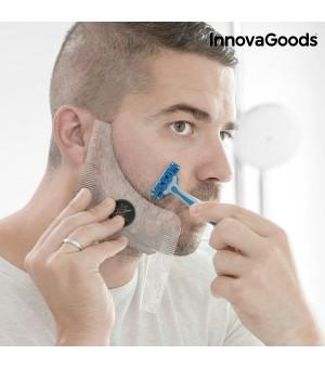 InnovaGoods Hipster Barber Bartschablone