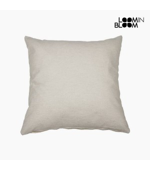 Kissen Baumwolle und polyester Beige (60 x 60 x 10 cm) by Loom In Bloom