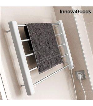 InnovaGoods Elektrischer Handtuchhalter zur Wandmontage 65W Weiß Grau (5 Rippen)
