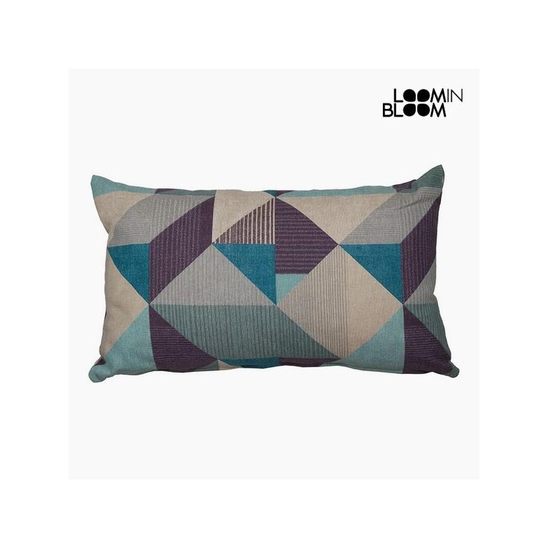 Kissen (30 x 50 x 10 cm) Baumwolle und polyester Blau