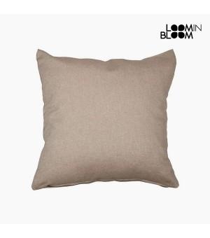 Kissen Baumwolle und polyester Braun (60 x 60 x 10 cm) by Loom In Bloom