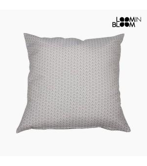 Kissen Baumwolle und polyester Grau (45 x 45 x 10 cm) by Loom In Bloom