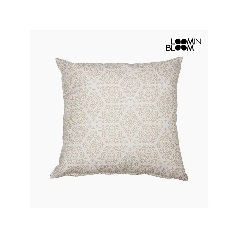 Kissen Baumwolle und polyester Beige (45 x 45 x 10 cm) by Loom In Bloom
