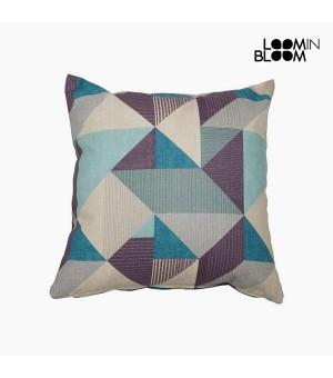 Kissen Baumwolle und polyester Blau (60 x 60 x 10 cm) by Loom In Bloom