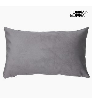 Kissen Polyester Grau (30 x 50 x 10 cm) by Loom In Bloom