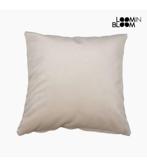 Kissen Polyester Beige (45 x 45 x 10 cm) by Loom In Bloom