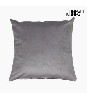 Kissen Polyester Grau (45 x 45 x 10 cm) by Loom In Bloom