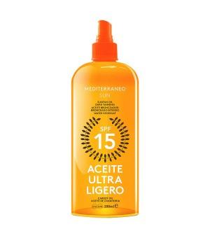 Sonnenöl Carrot Suntan Mediterraneo Sun SPF 15 (200 ml)