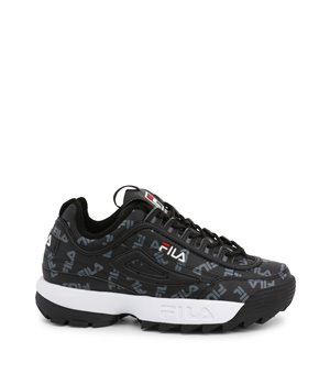 Fila Damen Sneakers Schwarz - DISRUPTOR-LOGO-LOW_1010748