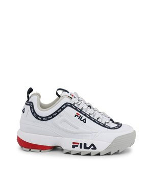 Fila Damen Sneakers Weiß - DISRUPTOR-LOGO-LOW_1010748