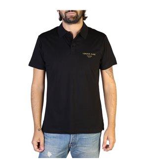 Versace Jeans Herren Polo Schwarz - B3GTB7P7_36610