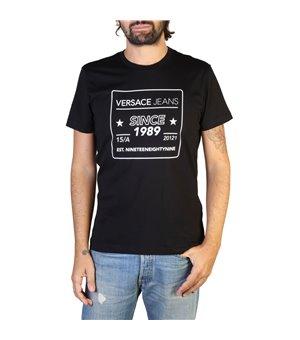 Versace Jeans Herren T-Shirts Schwarz - B3GTB76E_36610
