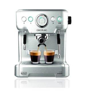 Manuelle Express-Kaffeemaschine Cecotec Power Espresso 20 Barista Pro 2,7 L Silberfarben