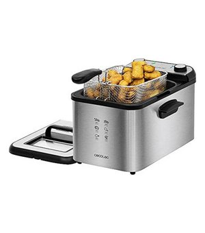 Fritteuse Cecotec CleanFry Infinity 4000 4 L 3270W Schwarz Silberfarben