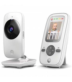 "Babyphone mit Kamera Motorola 223420 2"" 2.4GHz Weiß Grau"